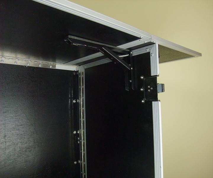 verkaufstheke zusammenklappbar portabler werbestand. Black Bedroom Furniture Sets. Home Design Ideas