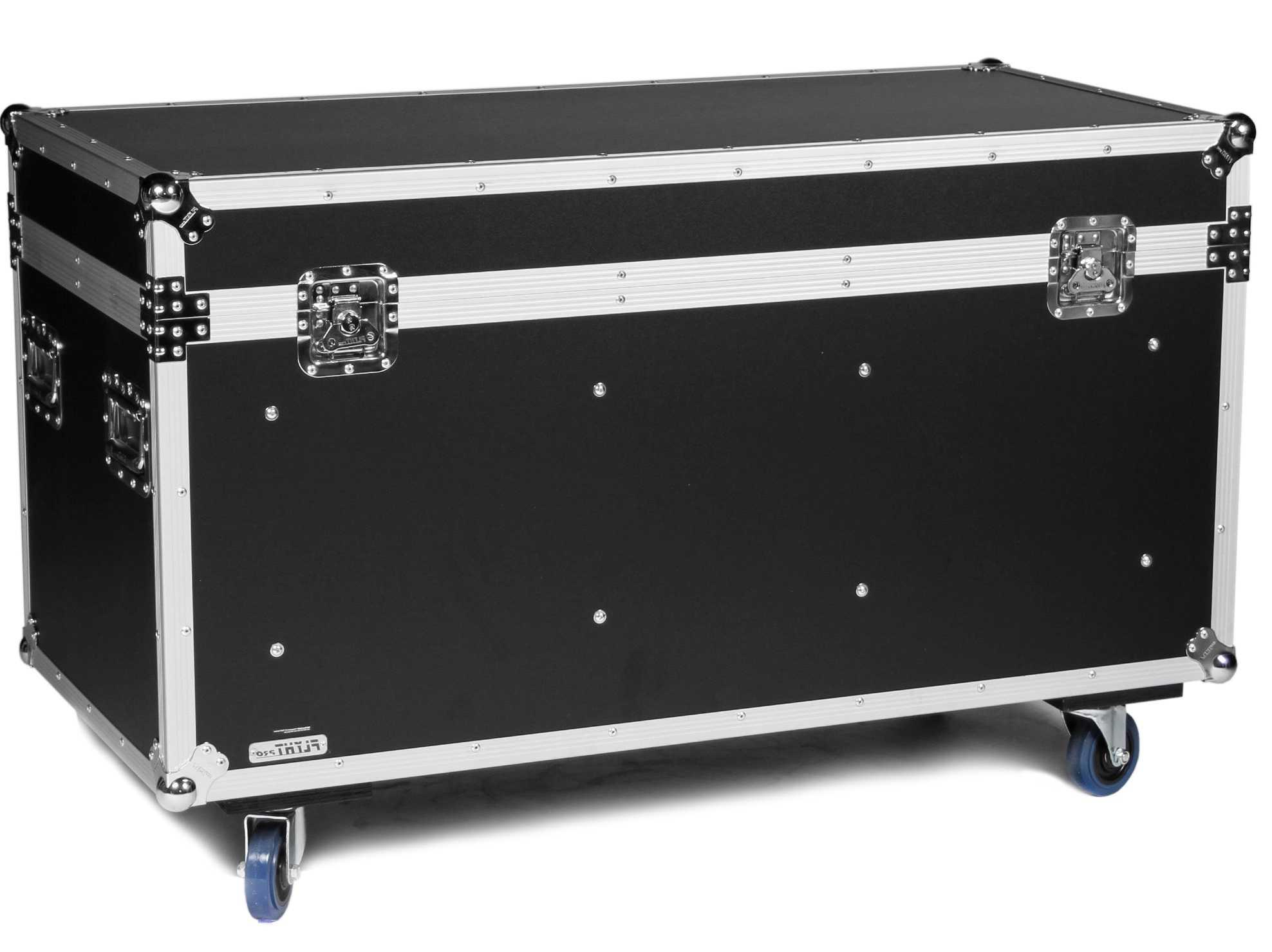 flyht universal tour case mit rollen 120 cm truhencase transportkiste tourcase ebay. Black Bedroom Furniture Sets. Home Design Ideas