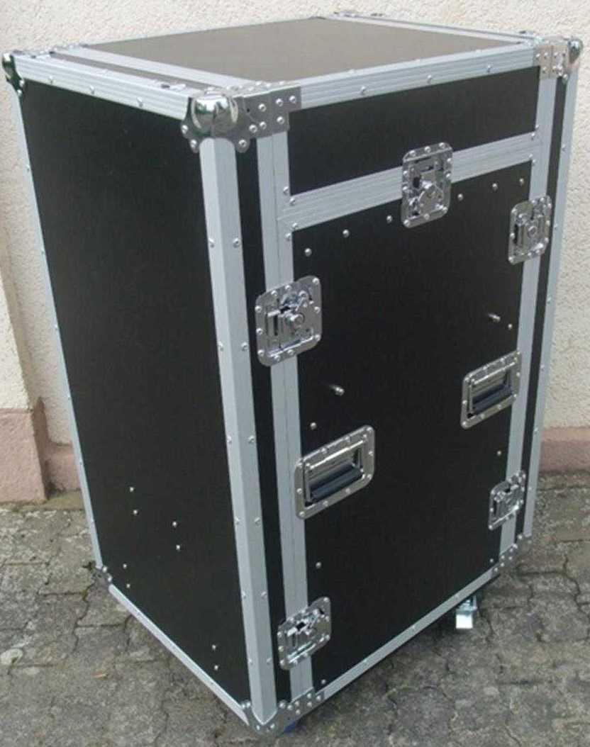 18 10 he spezial stage winkel kombi flight case td 3 tisch dj rack mit rollen ebay. Black Bedroom Furniture Sets. Home Design Ideas