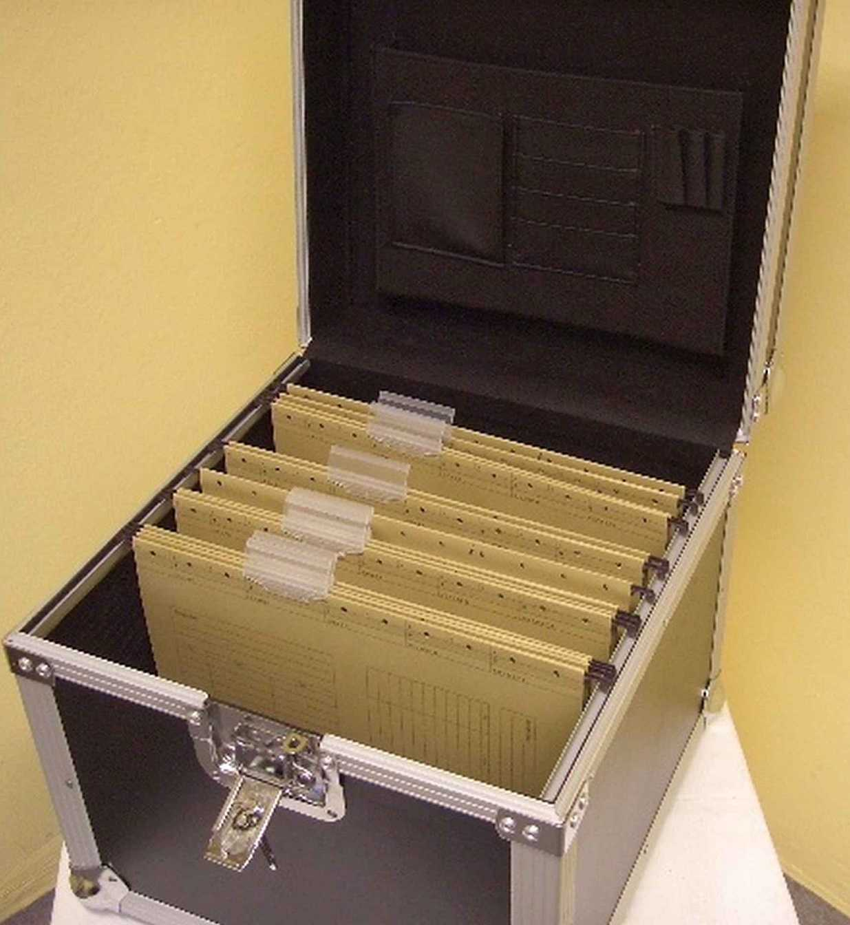 dokumentencase aktencase registraturen case dokumentenkoffer dokumenten koffer ebay. Black Bedroom Furniture Sets. Home Design Ideas