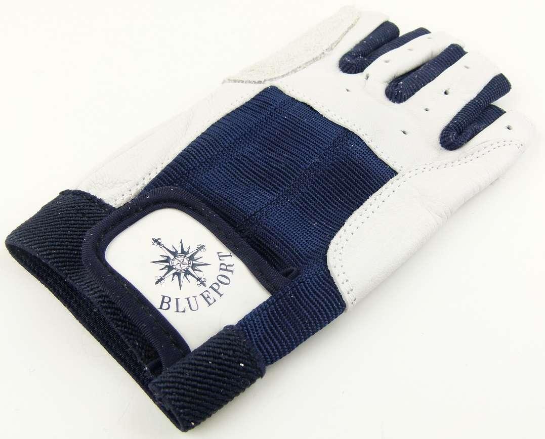 BluePort Roadie Handschuhe Leder Gr 10 ohne Finger Rigger Gloves Bühnenbau XL