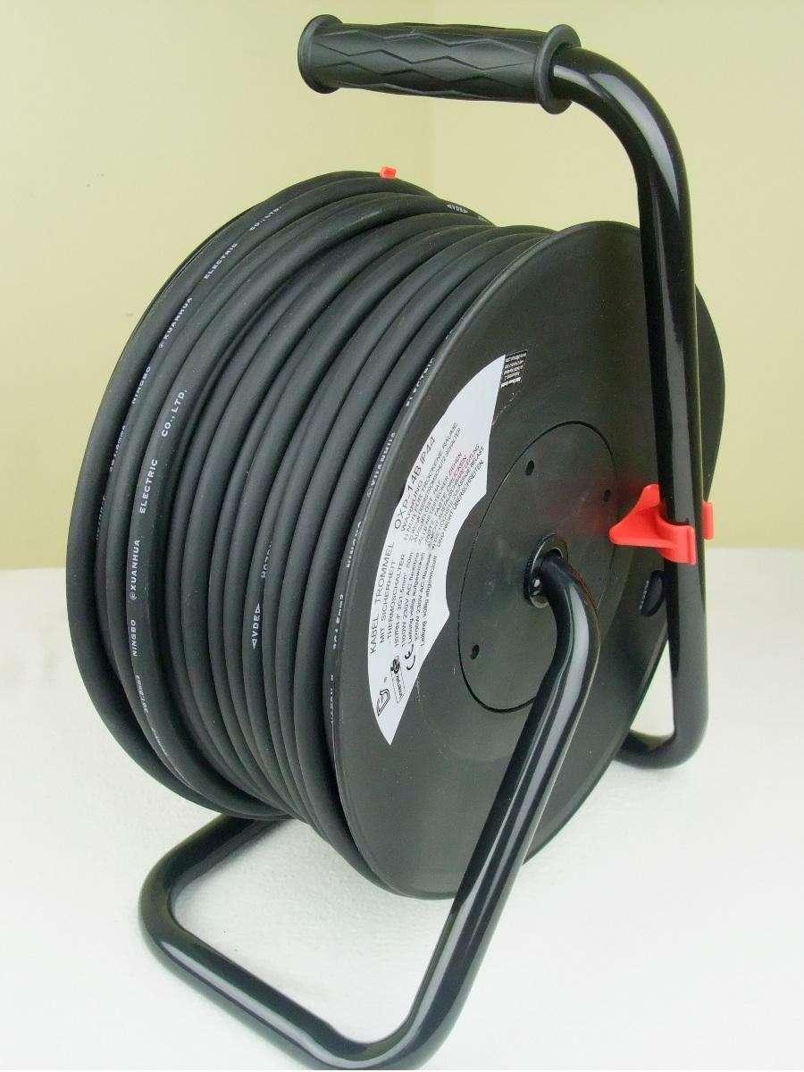 industrie aussen kabeltrommel sw ip44 50 m. Black Bedroom Furniture Sets. Home Design Ideas