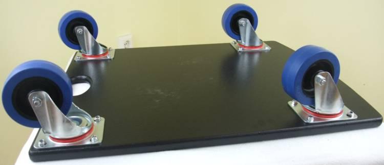 rollbrett gr 2 ungebremst 63x48 cm mit blue wheels transportroller m belhund neu ebay. Black Bedroom Furniture Sets. Home Design Ideas