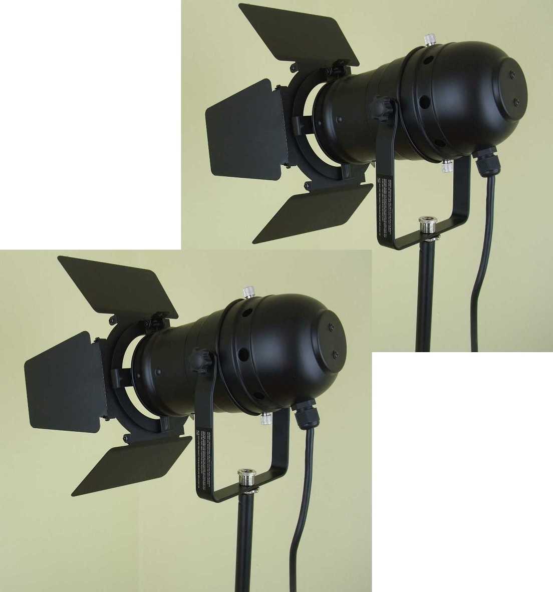 PAR 30 Tor-Blende schwarz Flügel-Begrenzer Flügeltor Barn-Door Blend-Klappe