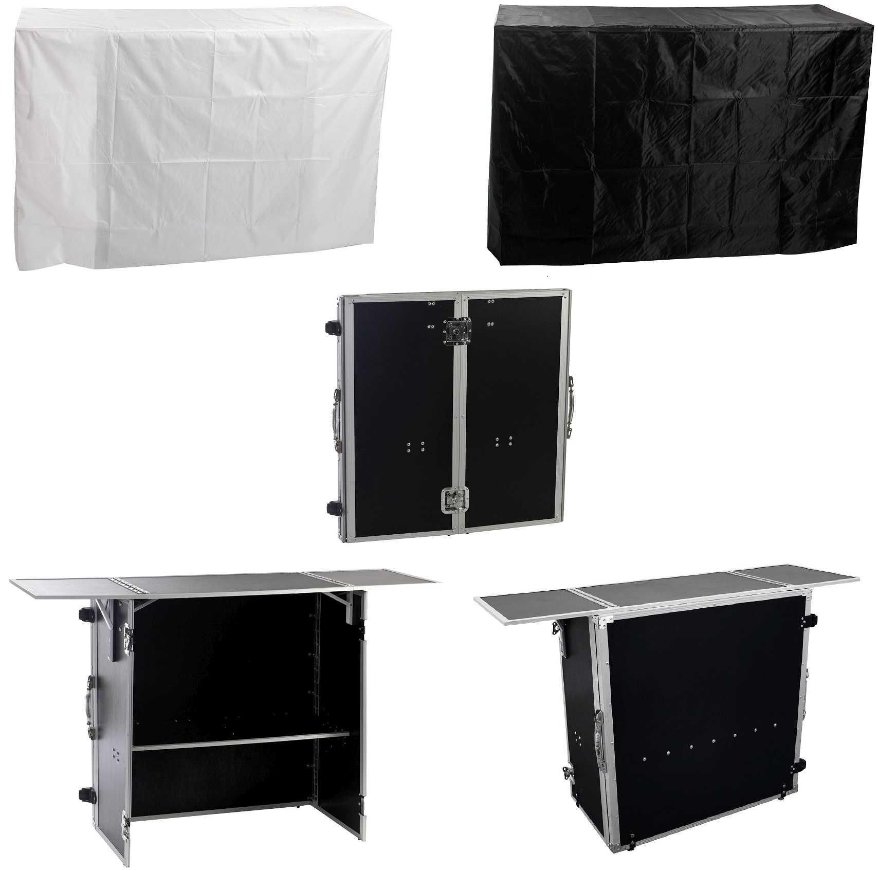 Dj Tisch Zusammenklappbar Portabler Dj Tisch Case Info Desk