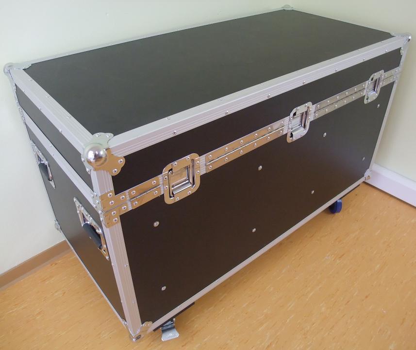 flyht pro universal werkzeug transport kiste 120 cm lang mit rollen truhencase ebay. Black Bedroom Furniture Sets. Home Design Ideas