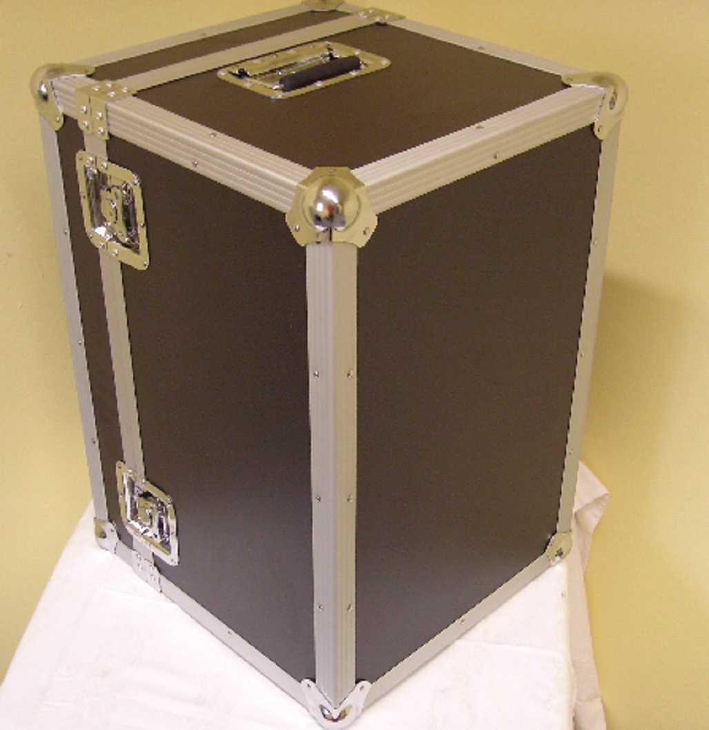 roadinger universal transport flight case 60 x 40 x 43 cm truhen kabel kiste box ebay. Black Bedroom Furniture Sets. Home Design Ideas
