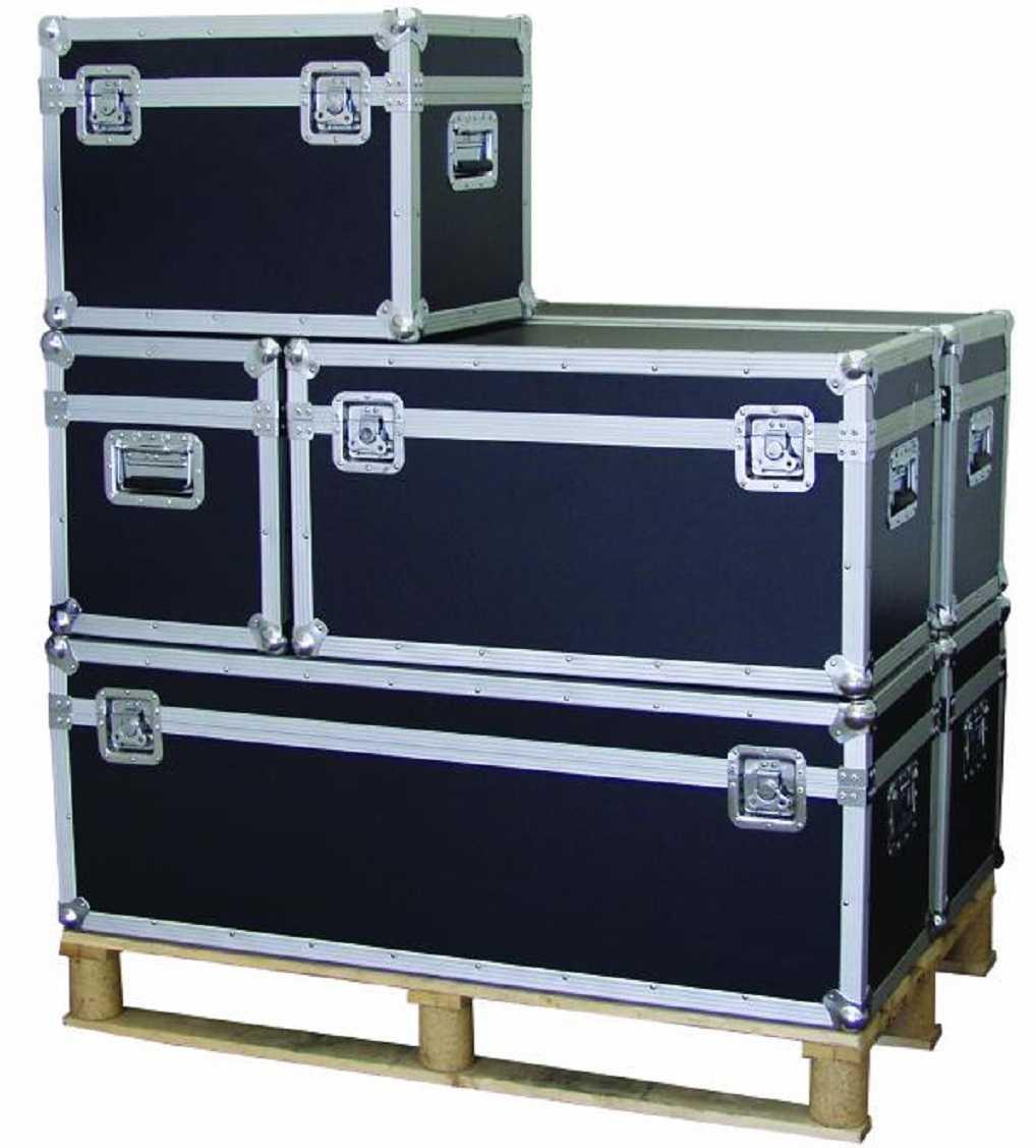 universal transport kiste 80x40x43cm montage material werkzeug camping box case ebay. Black Bedroom Furniture Sets. Home Design Ideas