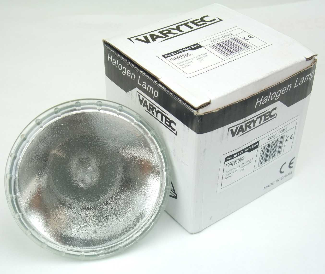 75 W PAR 30 Leuchtmittel für E27 Fassung 10° Spot Lampe PAR-30 VARYTEC 230 V