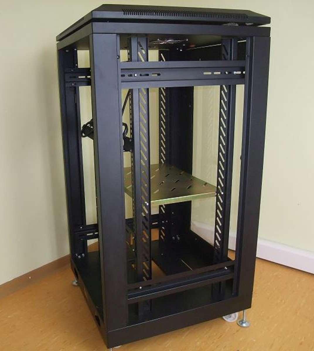 19 Steel Cabinet 20 U With Fan Server Cabinet Studiorack Network