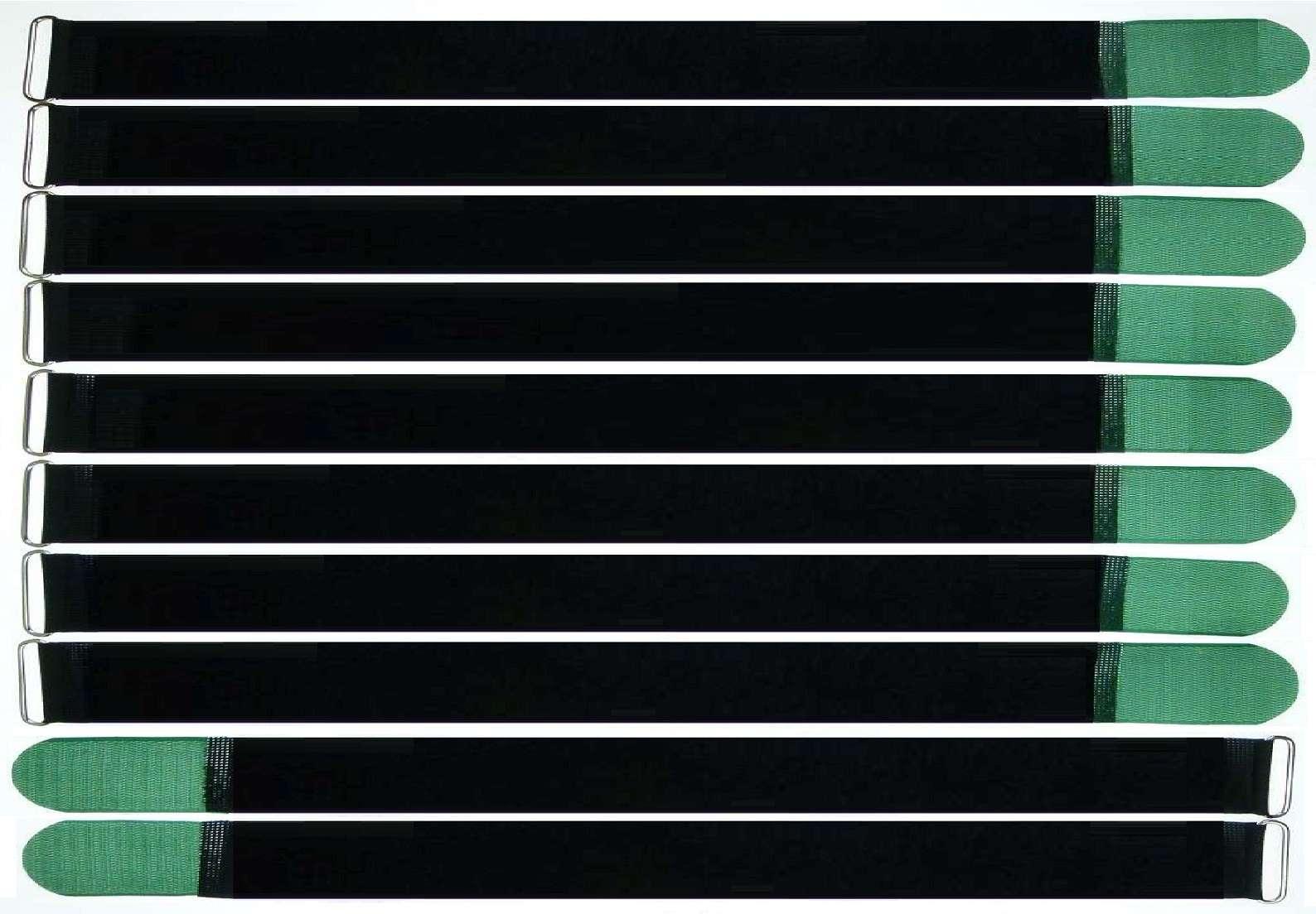60 Klettkabelbinder ECO GEMISCHT Klettbänder Kabelklett Kabelbinder Klettband