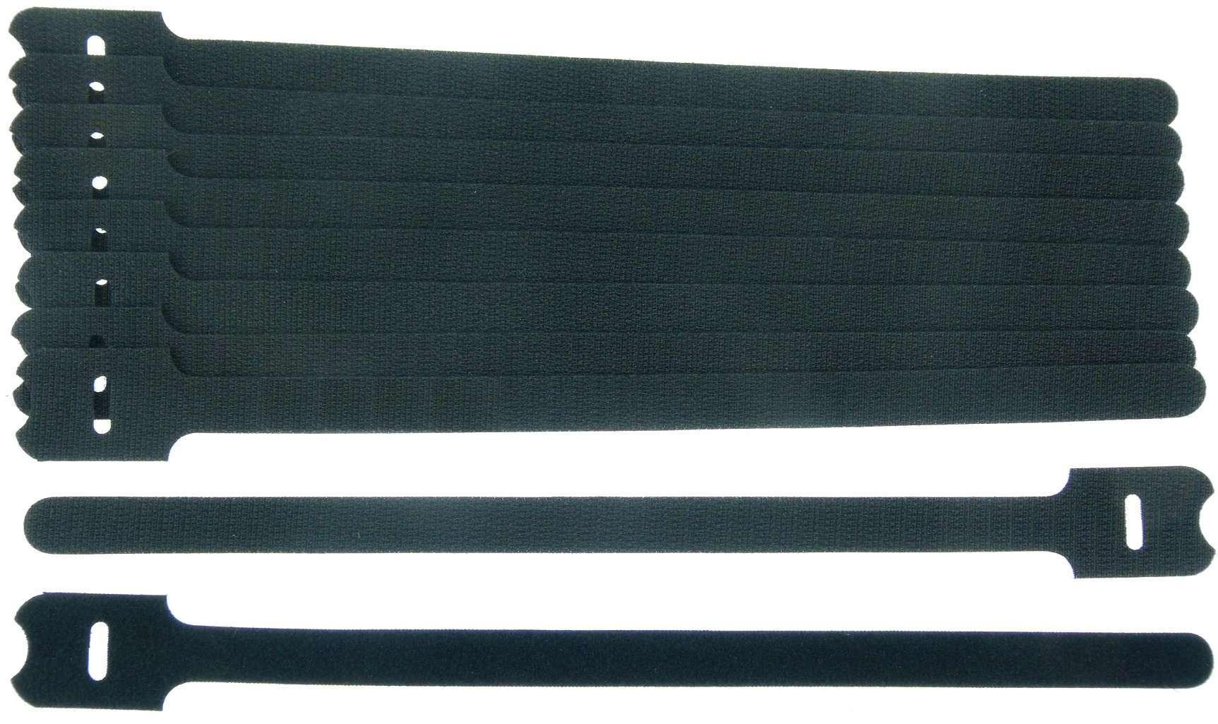 300 Klettkabelbinder ECO GEMISCHT Klettbänder Kabelklett Kabelbinder Klettband