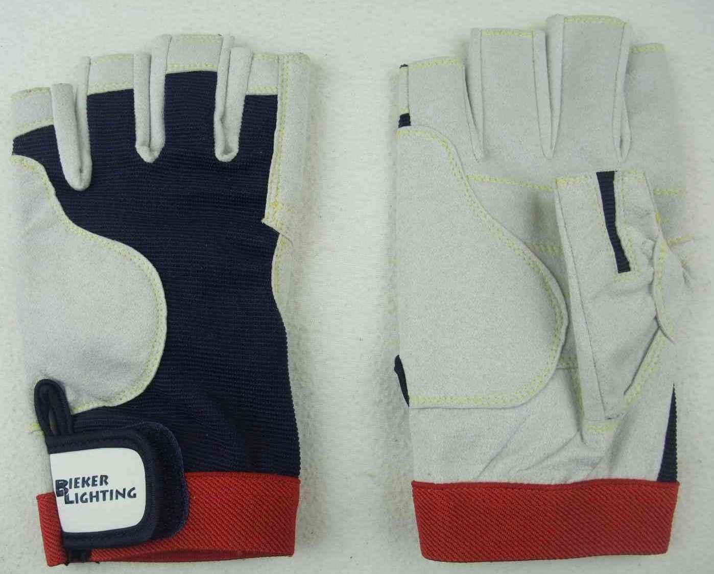 M 8 8x BluePort Segelhandschuhe AMARA Gr Rigger Gloves ohne Finger Handschuhe