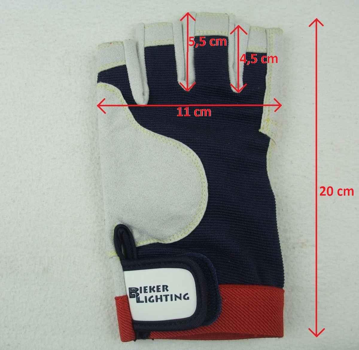 Rigginghandschuhe Handschuhe Roadie L 9 BluePort Segelhandschuhe AMARA PRO Gr