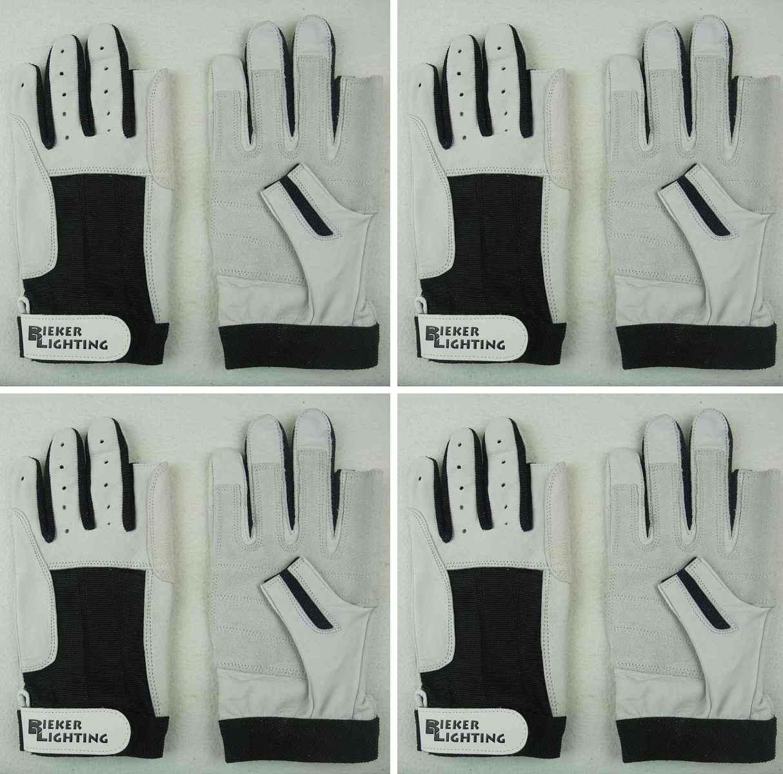 BluePort Segelhandschuhe AMARA Gr Rigginghandschuhe fingerlos Handschuhe M 8