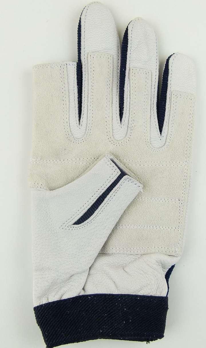 XL BluePort Roadie Handschuhe Leder Gr 10 ohne Finger Rigger Gloves Bühnenbau