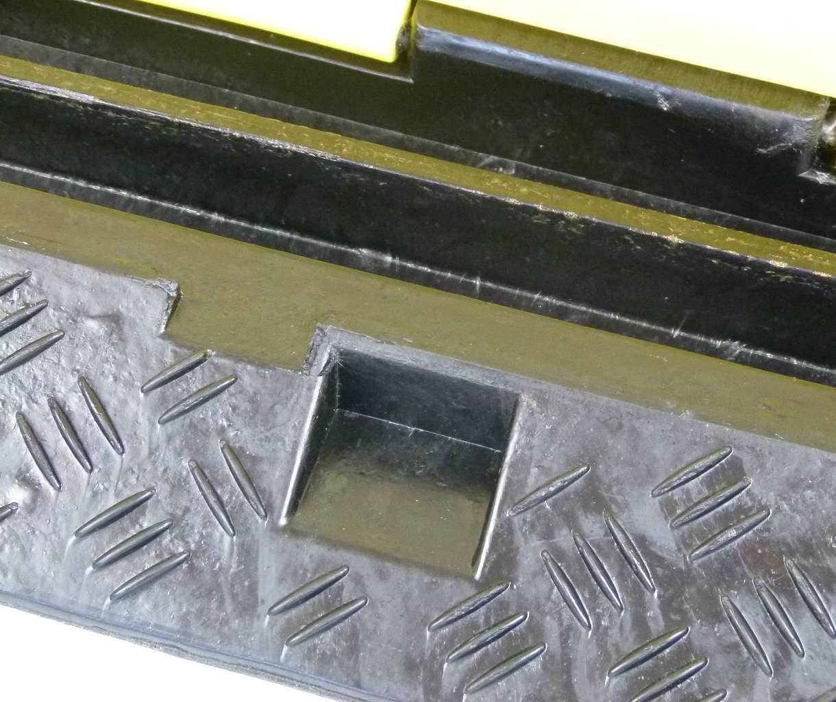 Kabel, Leitungen & Stecker 10 X 1 Kanal Pkw Lkw Überfahrschutz Eco Kabelbrücke Kabelschutz Kabelkanal Rampe Baustellengeräte & -ausrüstung