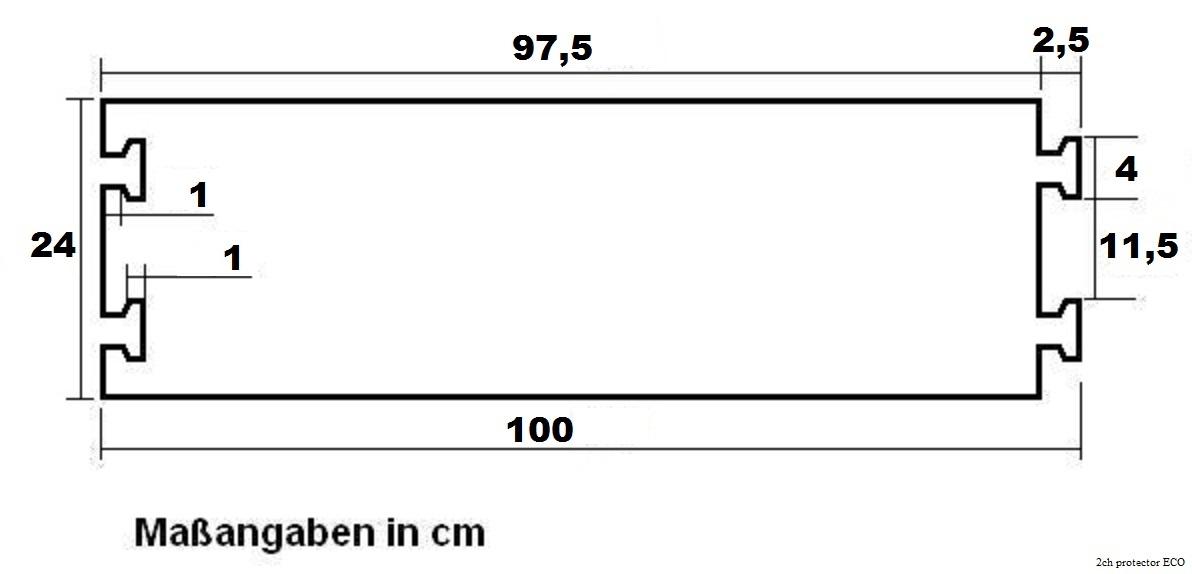 10 X 1 Kanal Pkw Lkw Überfahrschutz Eco Kabelbrücke Kabelschutz Kabelkanal Rampe Pro-audio Equipment