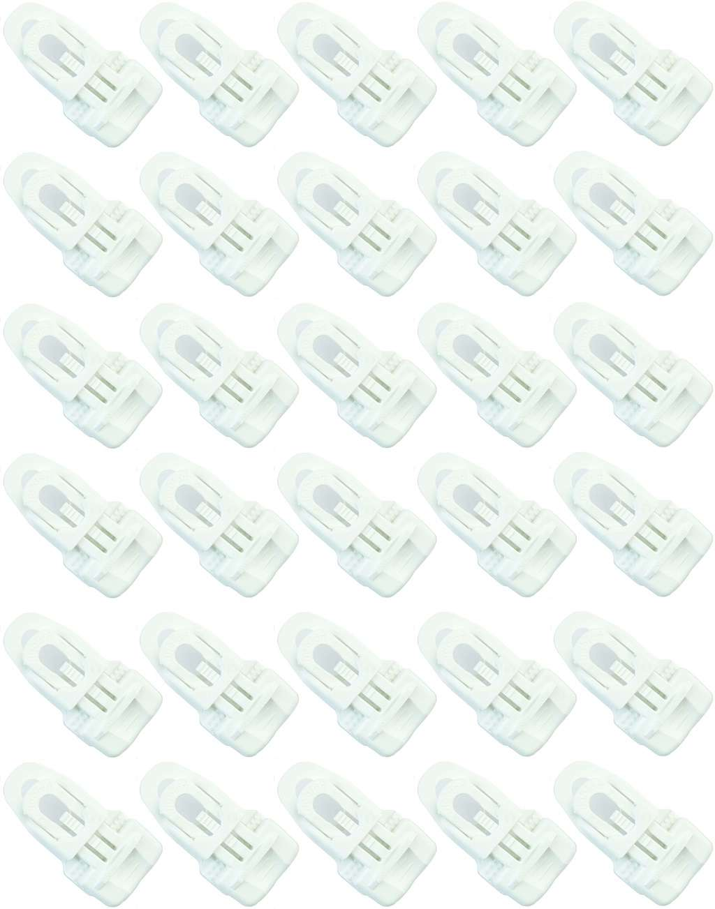 20 x Holdon Banner-Planen-Spanner schwarz MIDI-Clip Spann-Klammer 7 x 4 x 2 cm