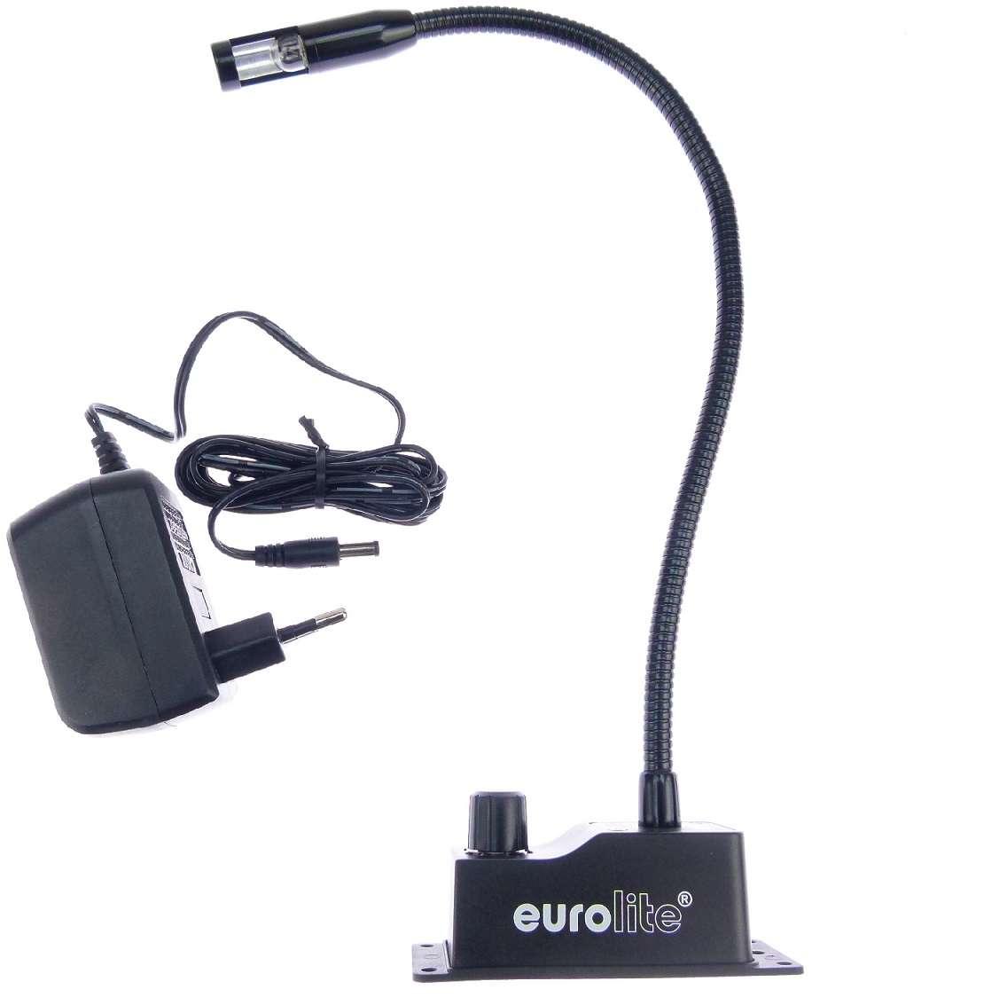 5w 230v notenpultlampe con zócalo para atornillar schwanenhalslampe lámpara de lectura