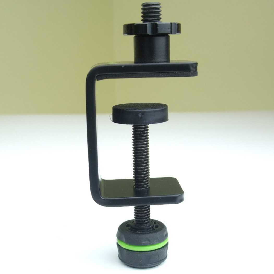 Mikrofon-Klemm-Halter Mikrofonhalter Mikrofon-Klammer-Klemme D903 Adam Hall NEU
