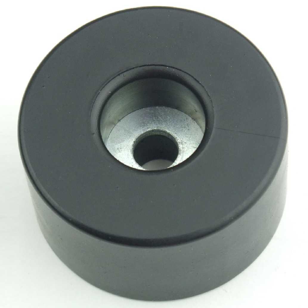 40 Gummifüße Ø 38 x 20 mm Stahleinlage Adam Hall 4909 Gerätefuß Möbelfüße Gummi