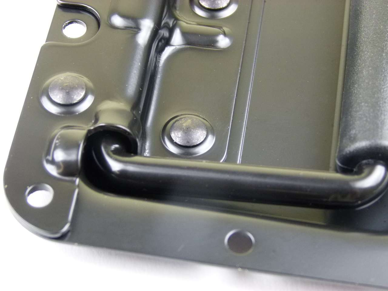 4 x AH gefederte Klappgriffe 130 x 77 mm Kistengriffe Boxengriffe Casegriffe