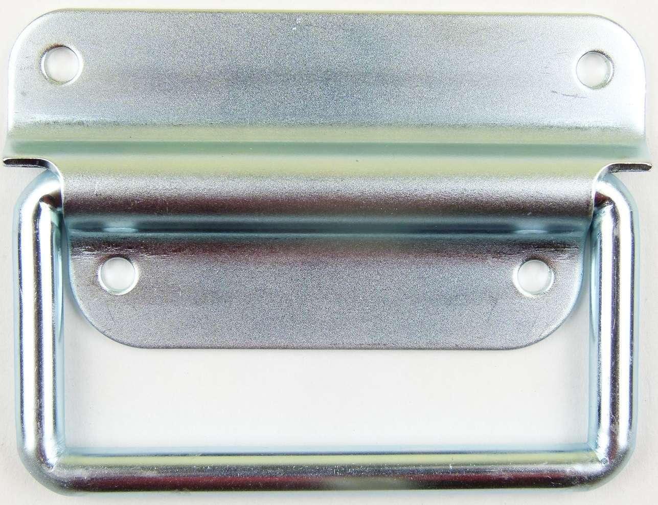 Gefederte Klappgriffe 102x81mm Case Kistengriff Boxengriff Tragegriff Klappgriff